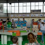 Image for the Tweet beginning: #Festival #robotique #Cachan #coupe internationale