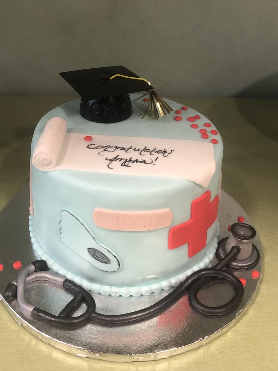 The Bakers Delight On Twitter Medical Graduation Cake Everything