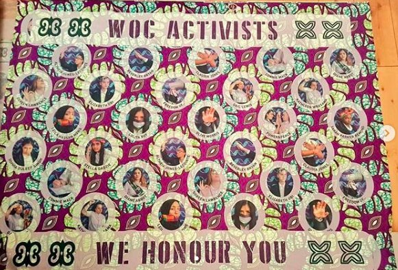 At the front of #PROCESSIONS2018 in London are banners by @heatha_a, @SadieWilliamsUK, @Girlguiding, Harris Academy Girls School, Claudette Johnson and @EastLondonNHS. They are spectacular! #PROCESSIONS2018 in London is making its way down Park Lane, have you spotted them yet? https://t.co/JgF6yHOl24