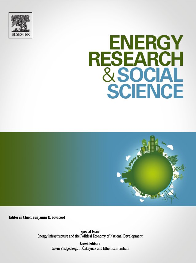 #NEW: Extremely pleased to announce that #ERSS Special Issue on #EnergyInfrastructures co-edited by Gavin Bridge, Begüm Özkaynak and myself is now online! Features key contributions on energy infrastructures around the world w/ an #openaccess introduction sciencedirect.com/journal/energy…
