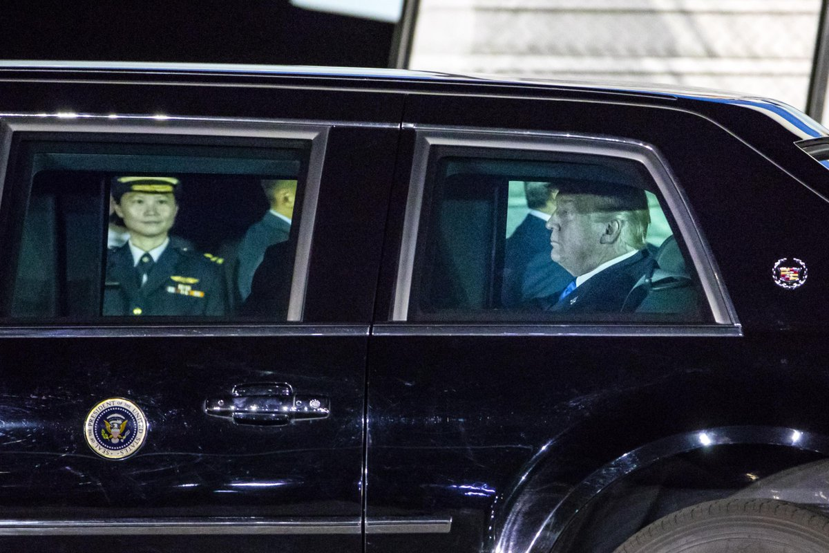 In Pictures: Donald Trump arrives in Singapore for historic summit with Kim Jong Un str.sg/oY2m