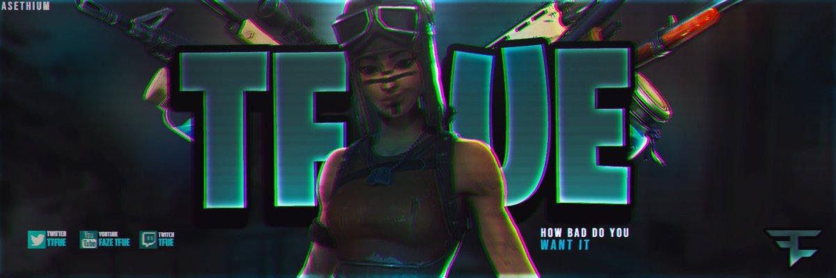 Asethium Gfx On Twitter Brand New Renegade Raider Fortnite Header