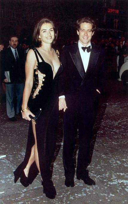 Happy 53rd birthday, Elizabeth Hurley! Who remembers her iconic pin dress from 1994?