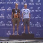 Pleased to get on the podium at @WorldTriLeeds @BritTri Standard AG Champs. Not quite the top spot like @PhysioBecs!! #TORQFuelled