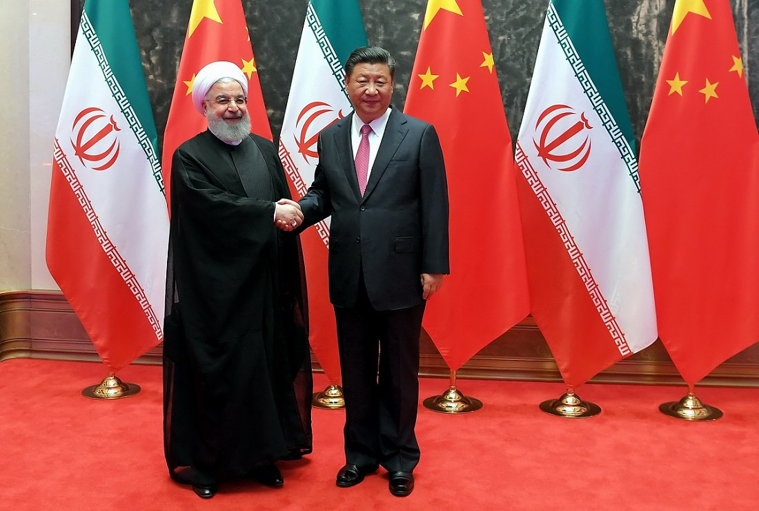 China, Iran say resolved to boost strategic ties in all fields.   Beijing says firmly opposed to US unilateral withdrawal from nuclear deal and imposition of new sanctions. #SCOSummit2018 <br>http://pic.twitter.com/zCo6hkL7ap