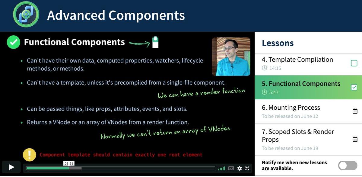 Vue js single file component  Single file components  2019-06-09