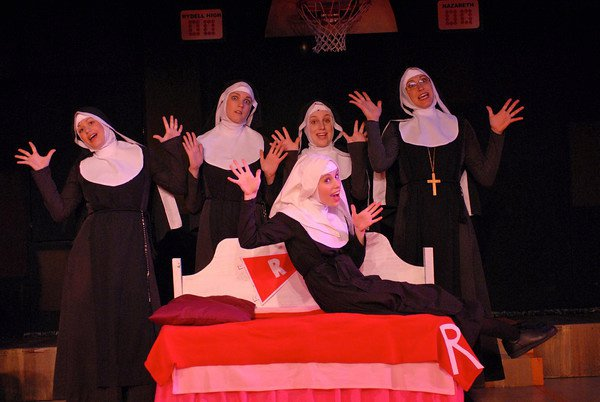 #TonyDreaming ? More like #TonyPraying in my college production of #Nunsense! #tonyawards
