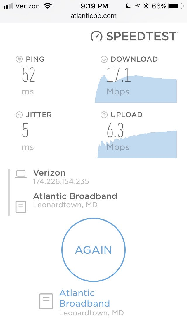 Atlantic Broadband On Twitter Is Your Current Internet Service