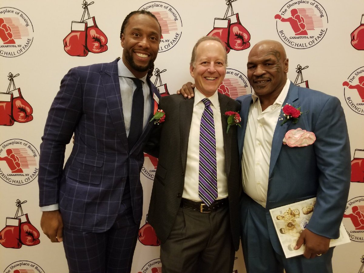 Congratulations to my guy Jim Gray on being inducted into the International Boxing Hall of Fame. Was great to be with you and always good to share time with my big bro @miketyson.