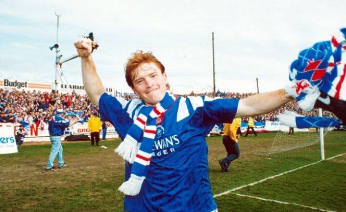 Happy Birthday, Stuart McCall  League Titles x6 Scottish Cup x3 League Cup x2