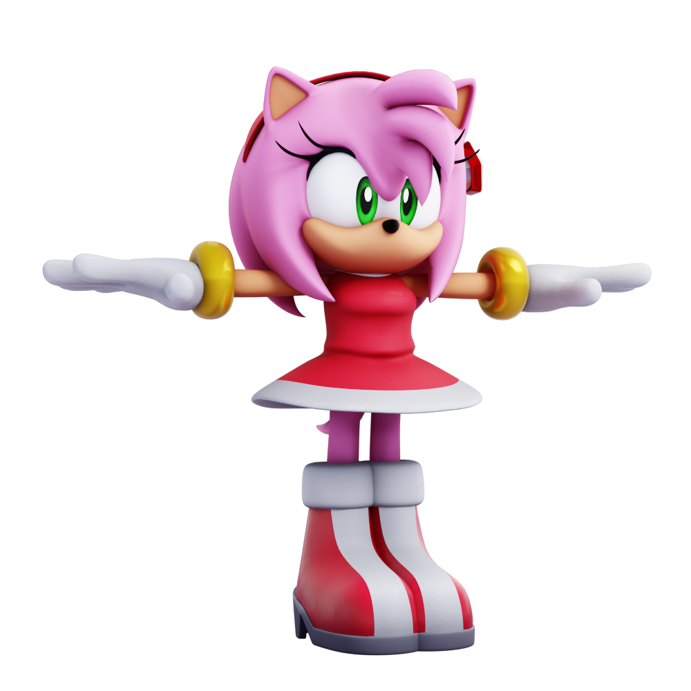 "Amy Wip active] lixes the prototype on twitter: ""dreamcast amy model"