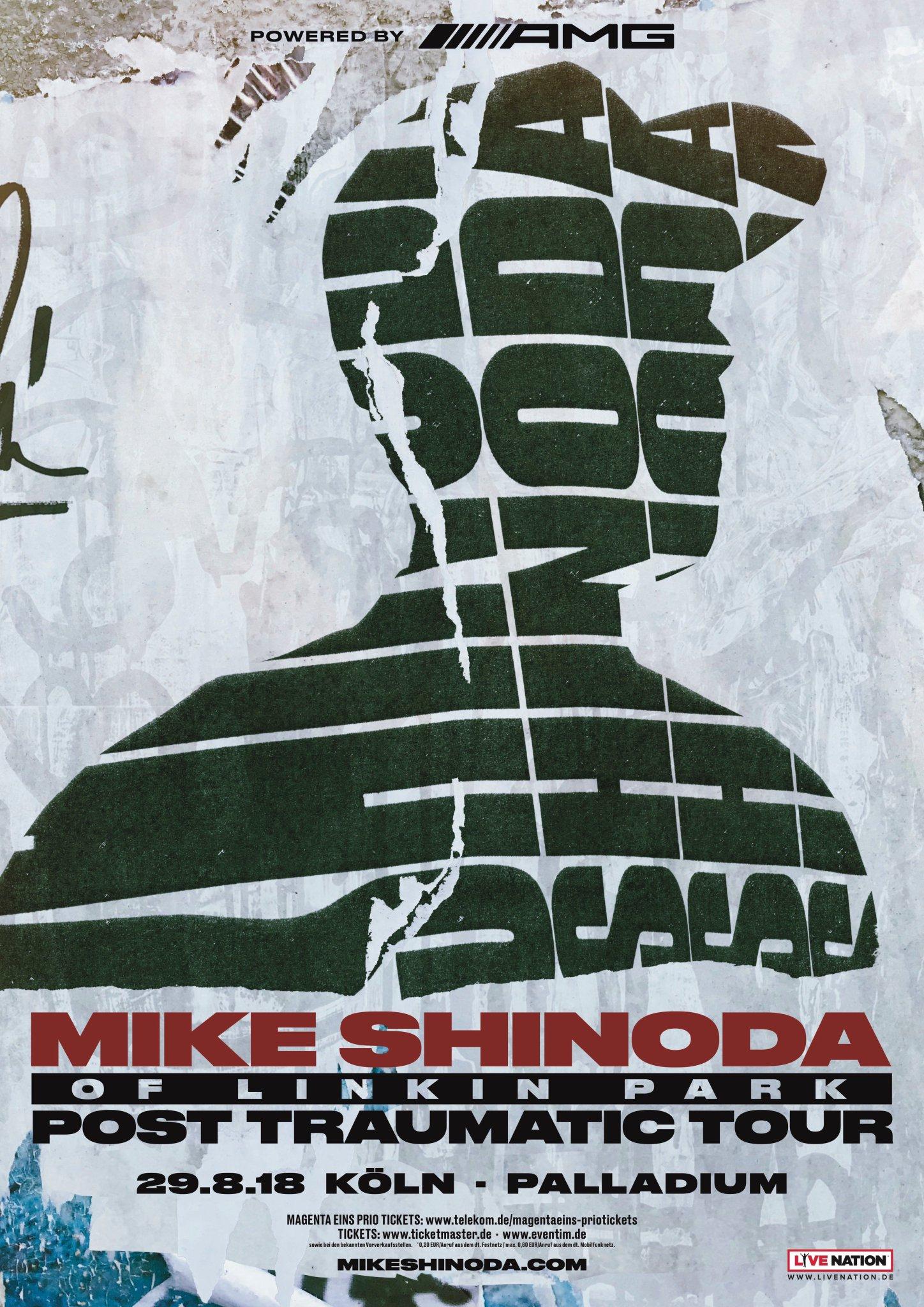 Mike Shinoda On Twitter Posttraumatictour Cologne Germany August 29 Lpu Pre Sale June 12 10am Cest Public On Sale June 15 10am Cest Tickets Info Https T Co S7hmgv1lx8 Lpu