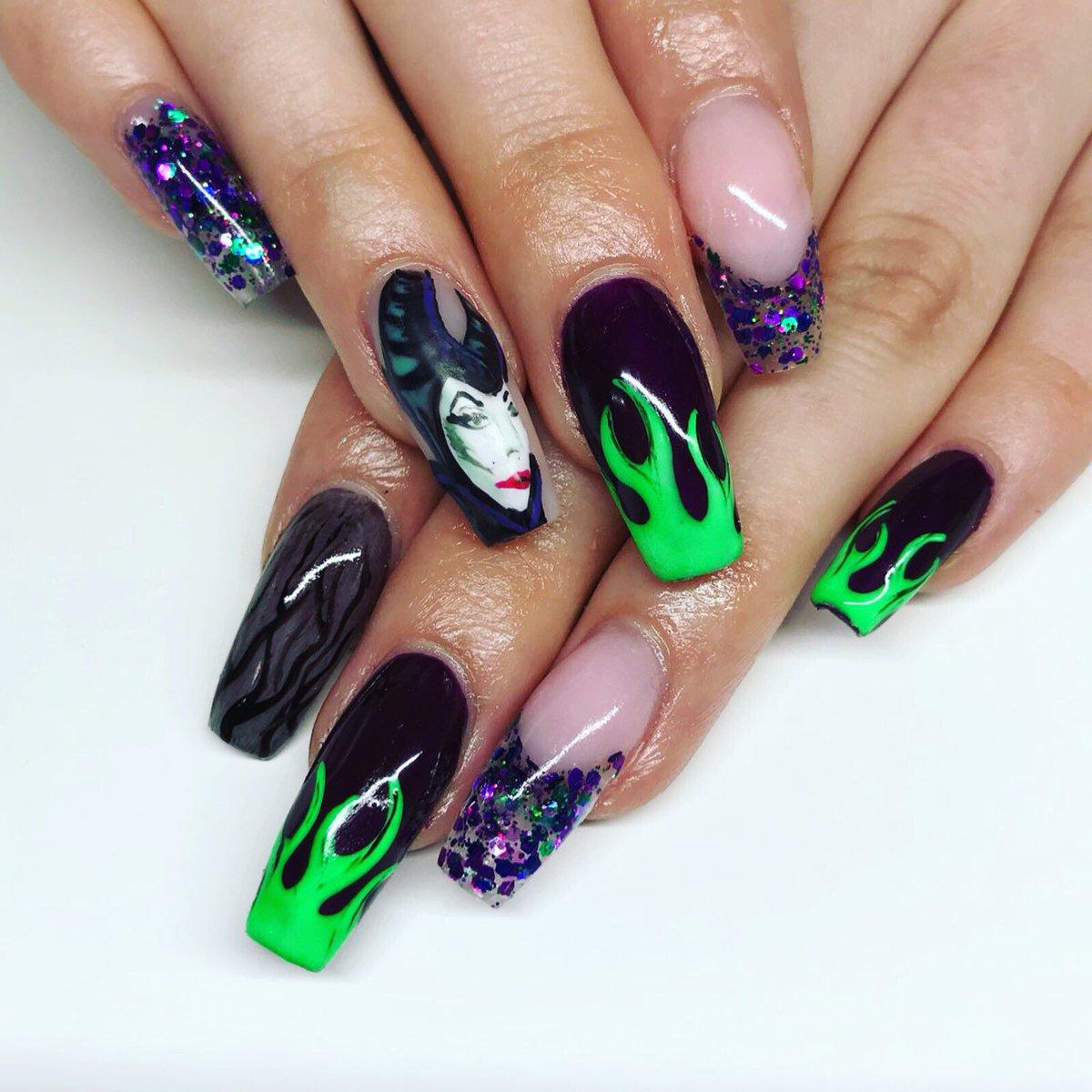Notorious Nails On Twitter Maleficent Disney Villian Vibes