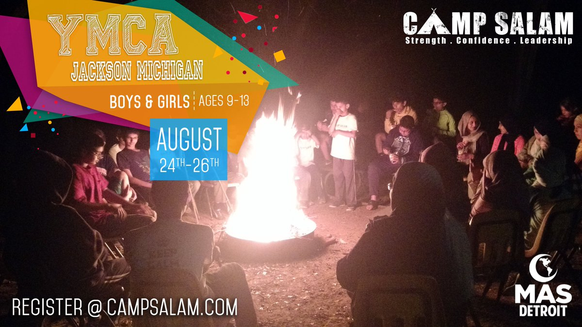 Camp Salam On Twitter Back To School Summer Camp Ages 9 13 Boys And Girls Michigan Https T Co 12ruohnk1m
