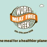 We're supporting World Meat Free Week please JOIN US and take the pledge to go meat free for ONE meal this week. https://t.co/Dwfh1uKGCX