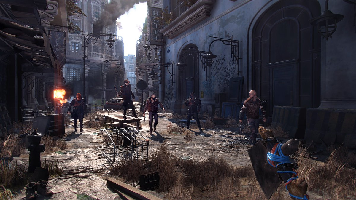 Dying Light On Twitter Welcome To The Modern Dark Ages Get Your First Look At City In Brand New 2 Screenshots