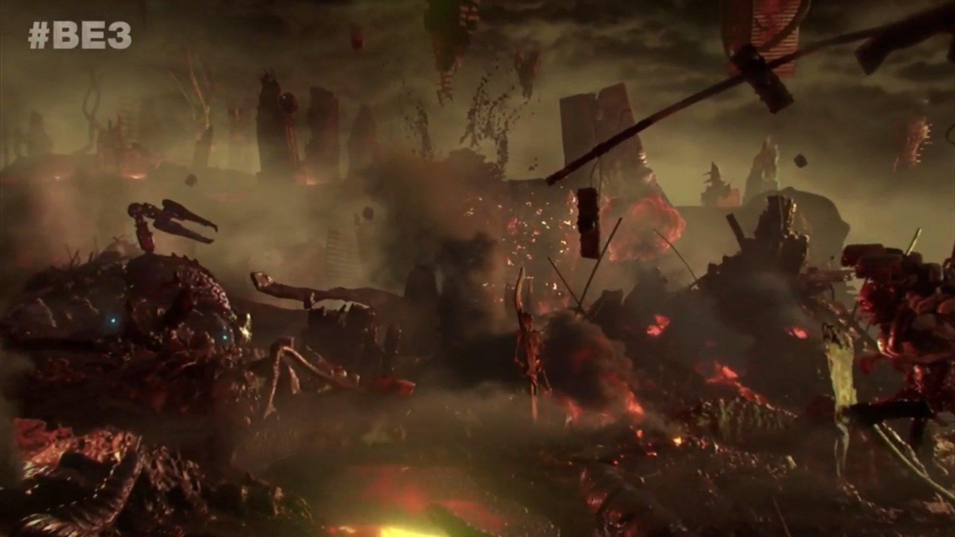 Doom Eternal hell-on-earth