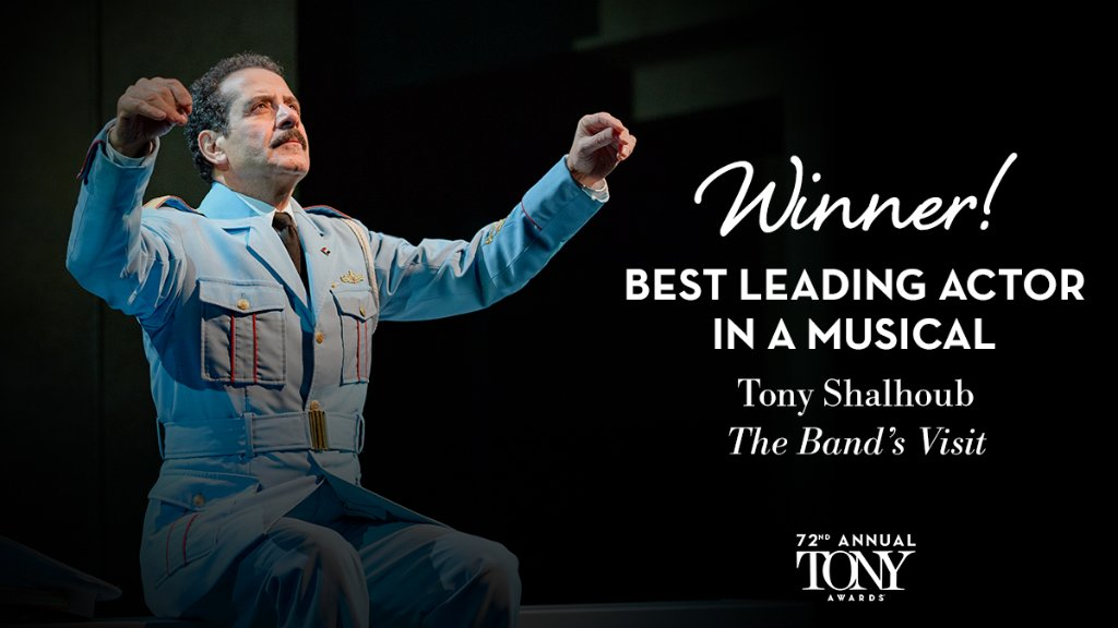 And the Tony for Best Leading Actress in a Musical