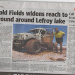 A positive article on $LEX in the Saturday 9 June Kalgoorlie Miner newspaper @KalMiner