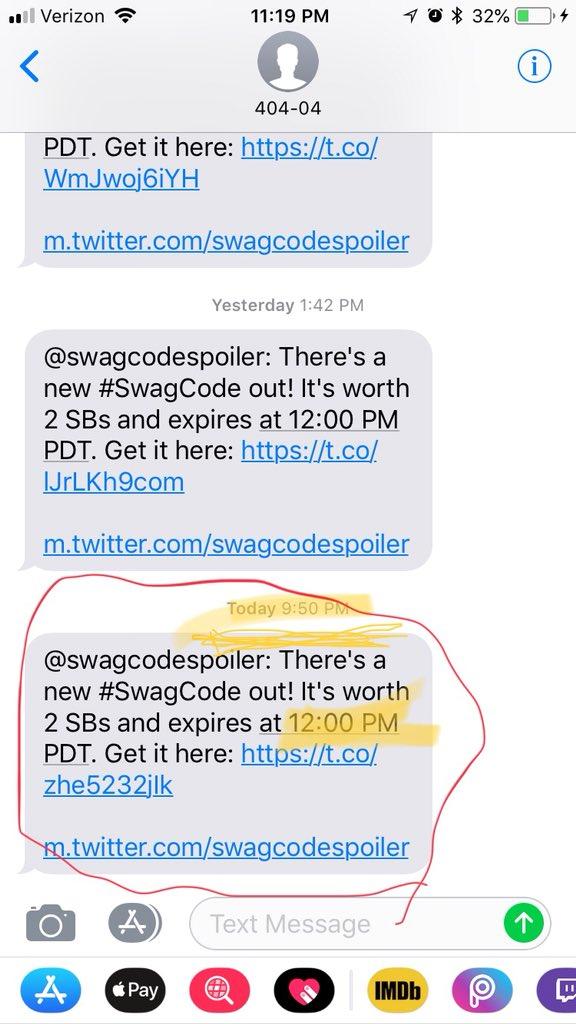 swagcodes hashtag on Twitter