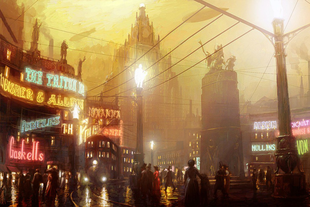 The #dieselpunk and #steampunk of Pete Amachree https://t.co/961x5z2a4C