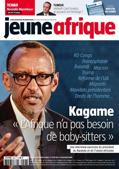 Cette semaine, dans Jeune Afrique, découvrez l'interview exclusive de  !  Il y a lonhttps://t.co/scG91ShoD2gtemps que le chef de l'Etat a appris à faire fi des critiques. Le président en exercice de l'UA défend ses positions. Et pointe du doigt 'les donneurs de leçons'