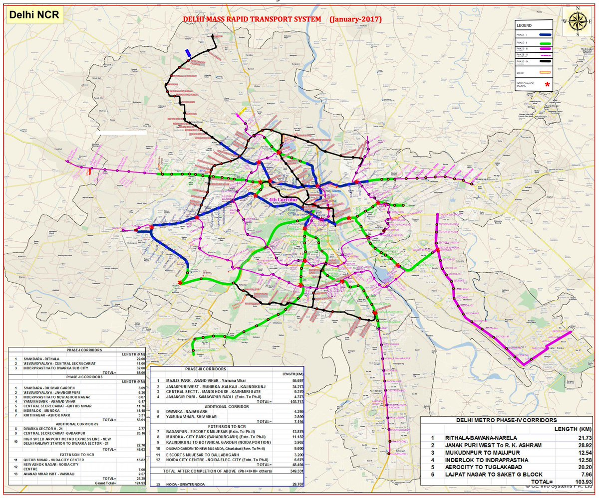 A Subway Map Is A Good Example Of A.Rasagy Sharma On Twitter The Delhi Metro Map By Inat Is An