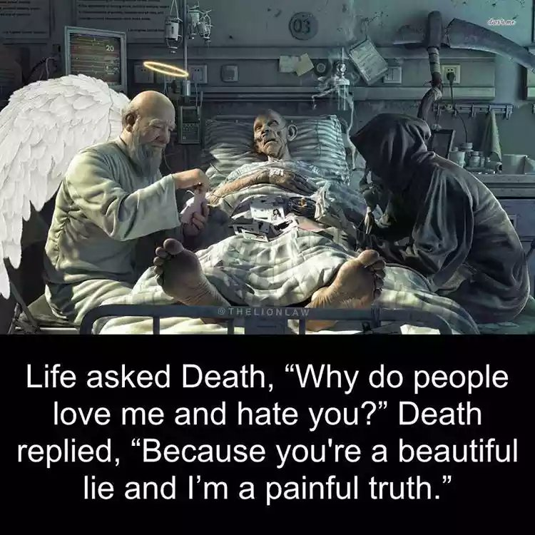 Feelingsthoughts On Twitter Life Asked Death Why Do People