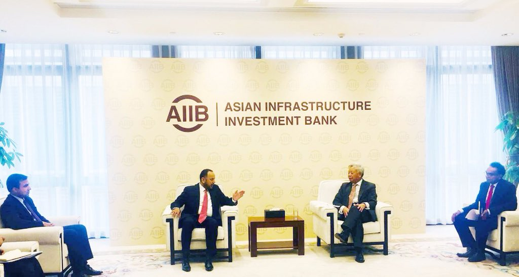 I met with the president of AIIB, Jin Liqun, at it's HQ in Beijing& talked on investment in Afghanistan including solar energy projects, industrial parks&other infrastructure projects-meanwhile president of AIIB reiterated its Bank's support to infrastructure in Afghanistan.