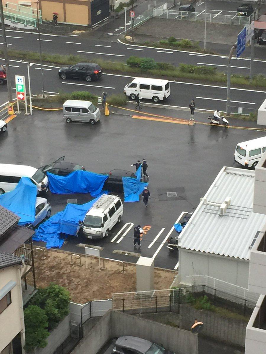 泉佐野市市場西で殺人未遂事件の現場の画像