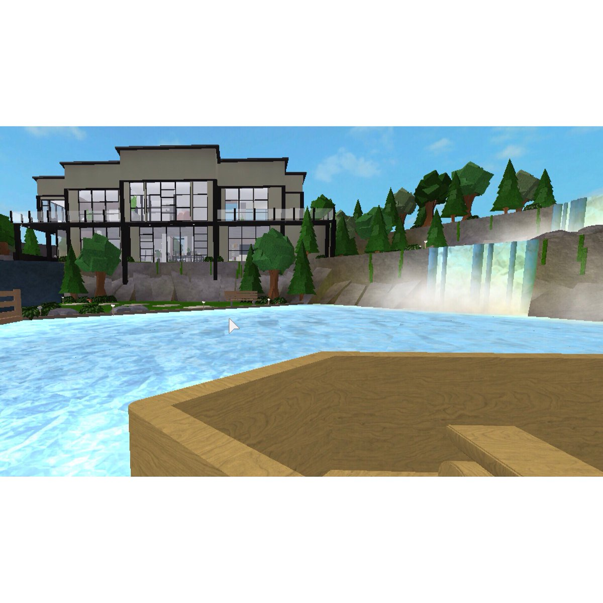 Rush Together On Twitter This Is By Far Up To This Date - roblox bloxburg speed builds modern 10k
