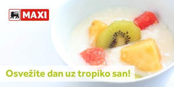 Započnite radnu nedelju sa dve sočne tropske voćke u čaši jogurta! Priprema je laka, a ukus fantastičan! Uvek sveže voće čeka vas u Maxiju! https://t.co/5pcMWUGb9j