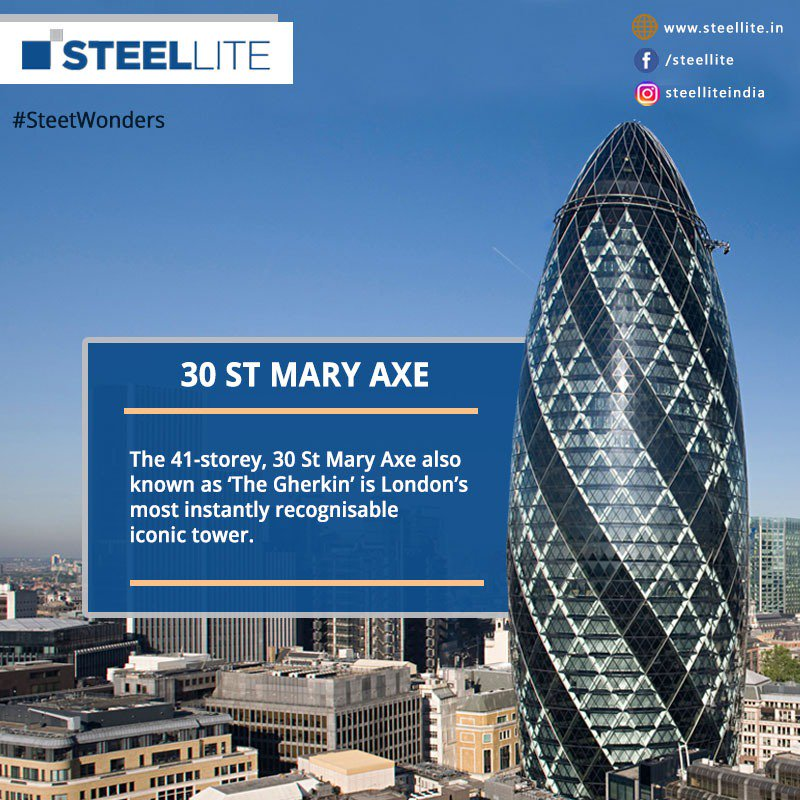 Steelwonders Hashtag On Twitter - London-gherkin-an-unusual-eggshaped-building