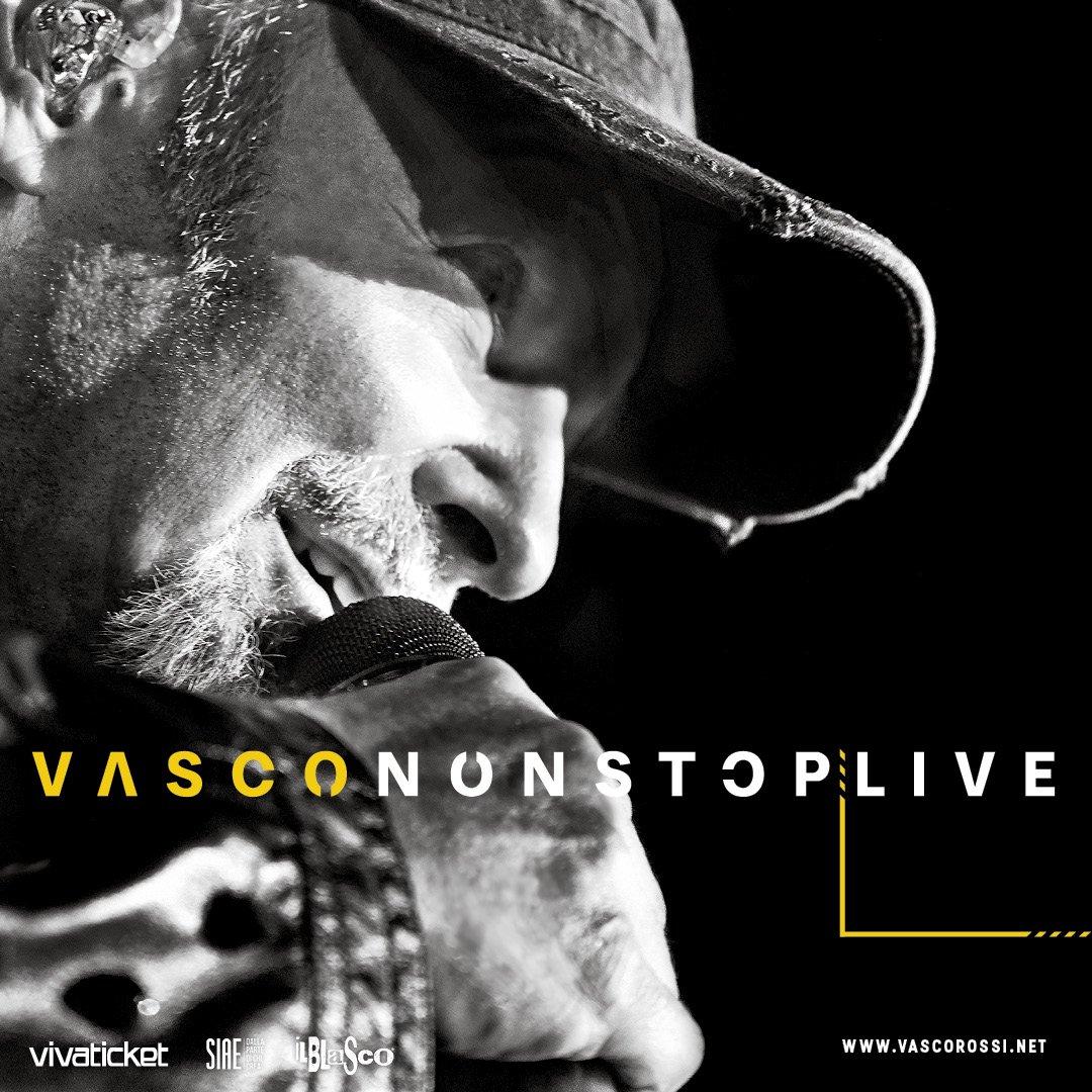 VASCO Non Stop Live • 11 e 12 Giugno • Roma, Stadio Olimpico. - Apertura Cancelli: ⋄ prato: h 16 ⋄ altri settori: h 17 - Inizio show: h 21:15 facebook.com/thebaseconcert…