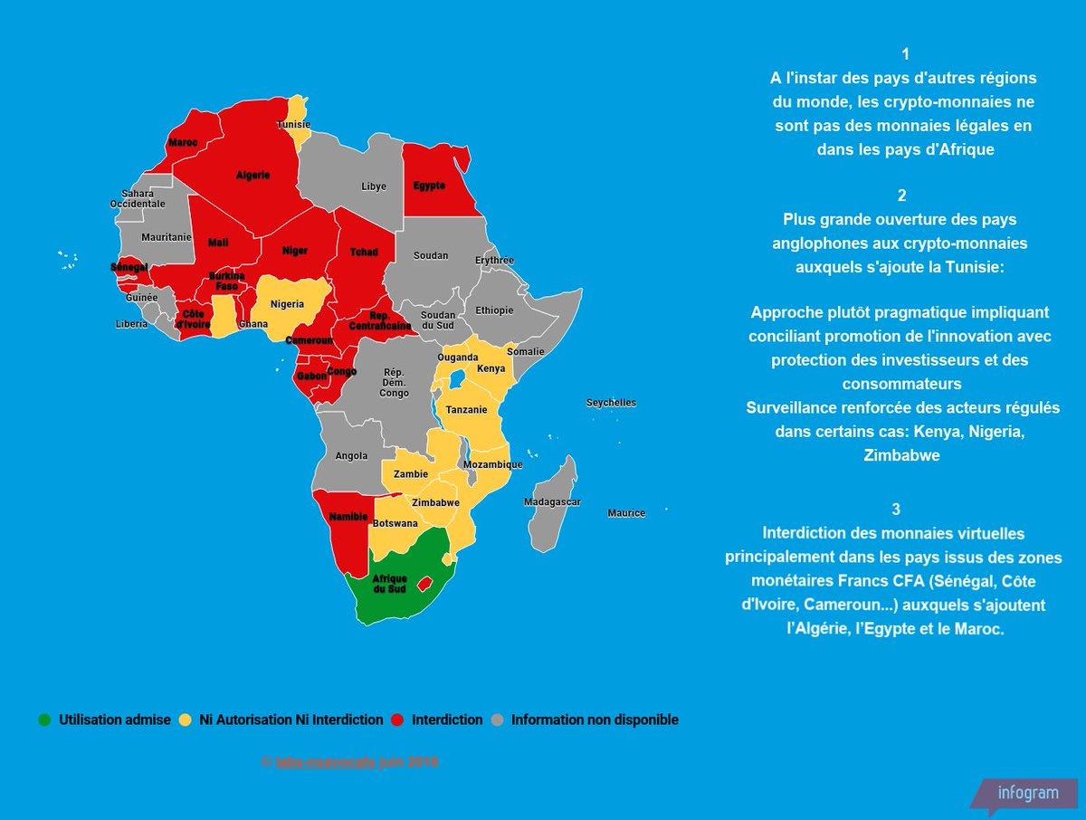 Carte De Lafrique Interactive.Labs Ns Avocats On Twitter Cryptomonnaies Qu En Disent Les