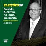 #AlckminNaJovemPan Twitter Photo