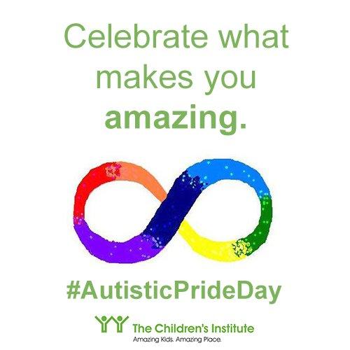 Everything Makes Children Autistic >> Children S Institute Twitterissa On Autisticprideday We