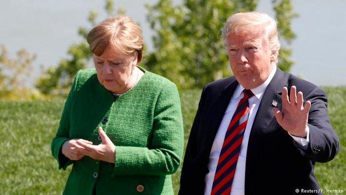 Trump: o grande mentiroso. Através de sua conta no Twitter o presidente norte-americano mente descaradamente sobre a Alemanha ao afirmar que o crime cresce no país por causa dos refugiados. Fato: comprovadamente está acontecendo exatamente o contrário. Foto