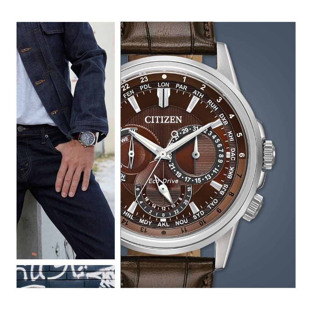 Calendrier Case.Citizen Watch Us On Twitter Sophistication With An Edge