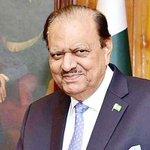 President Mamnoon Hussain Twitter Photo