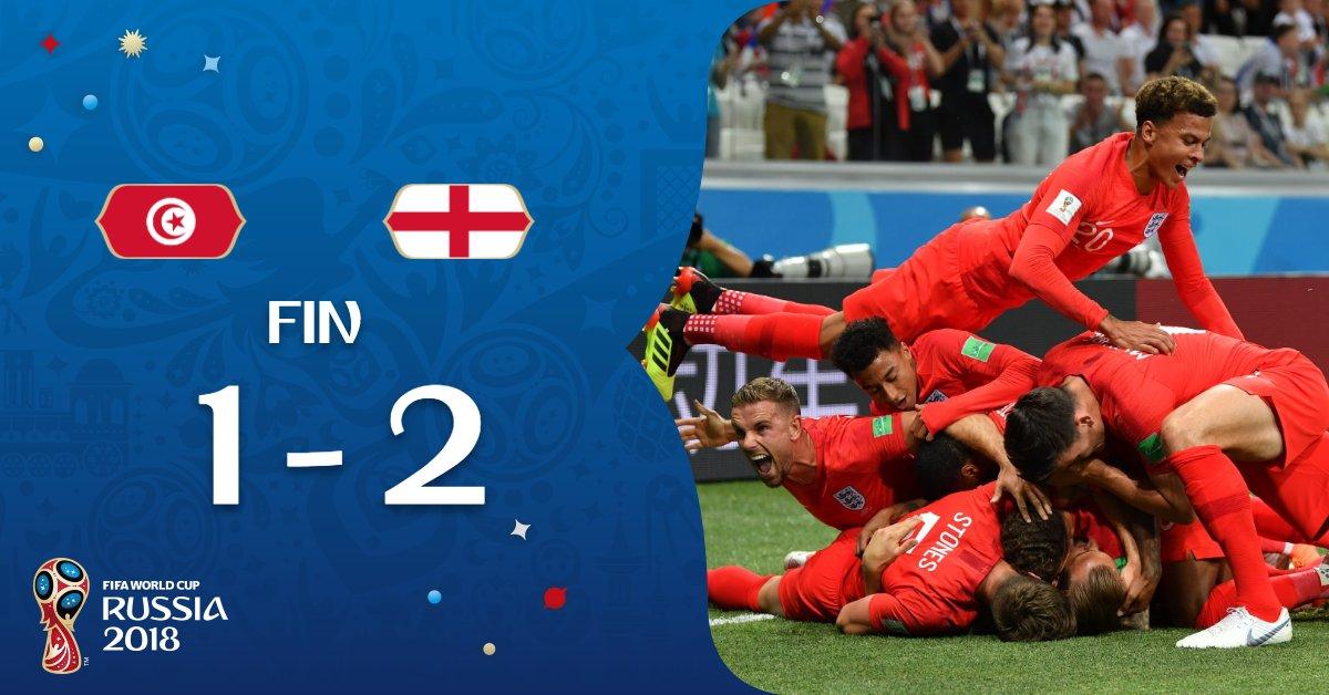 Angleterre-Tunisie