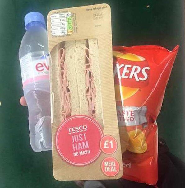 Image result for boring meal deal