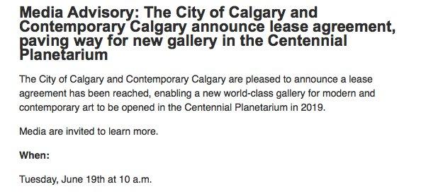 Jason Markusoff On Twitter A Major Art Gallery In Calgary Oooh
