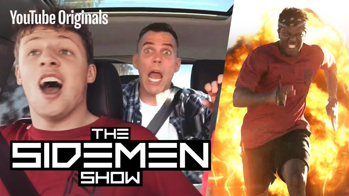 THE SIDEMEN SHOW IS OUT! WATCH EPISODE 1 HERE FOR FREE! youtube.com/watch?v=0sHAOw…