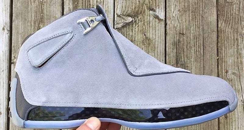 .@Jumpman23 is dropping a 'Cool Grey' Air Jordan 18 later this year https://t.co/o3i8cpG7OY https://t.co/Li9tVctXmi