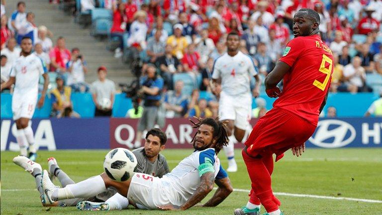 Bélgica gana 3-0 ante Panamá en Fase de Grupos