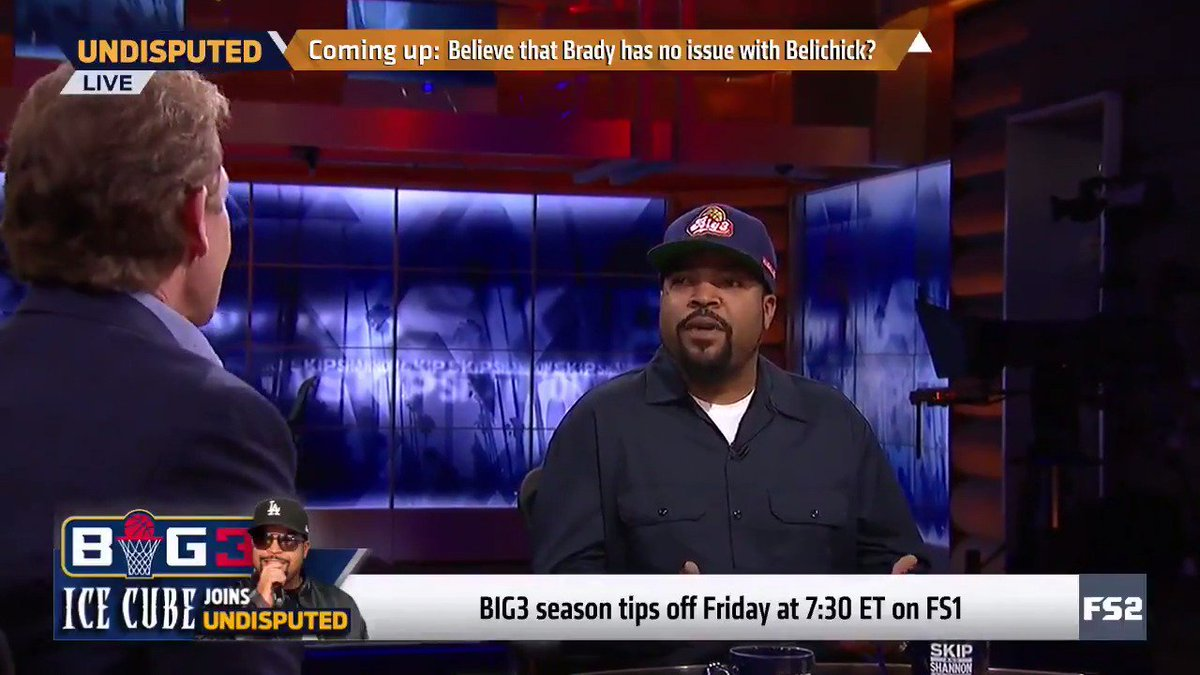 The void is great basketball in the summer. Professional 3-on-3 basketball is a great game... To me it fills that void. - @icecube on @thebig3