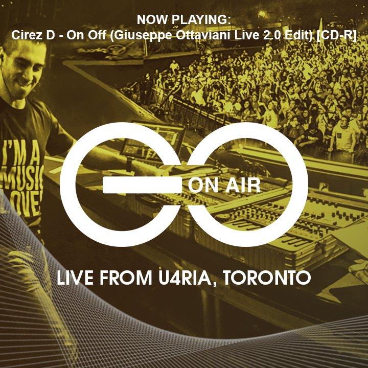 09. Cirez D - On Off (Giuseppe Ottaviani Live 2.0 Edit) [CD-R] #GOOnAir #Toronto