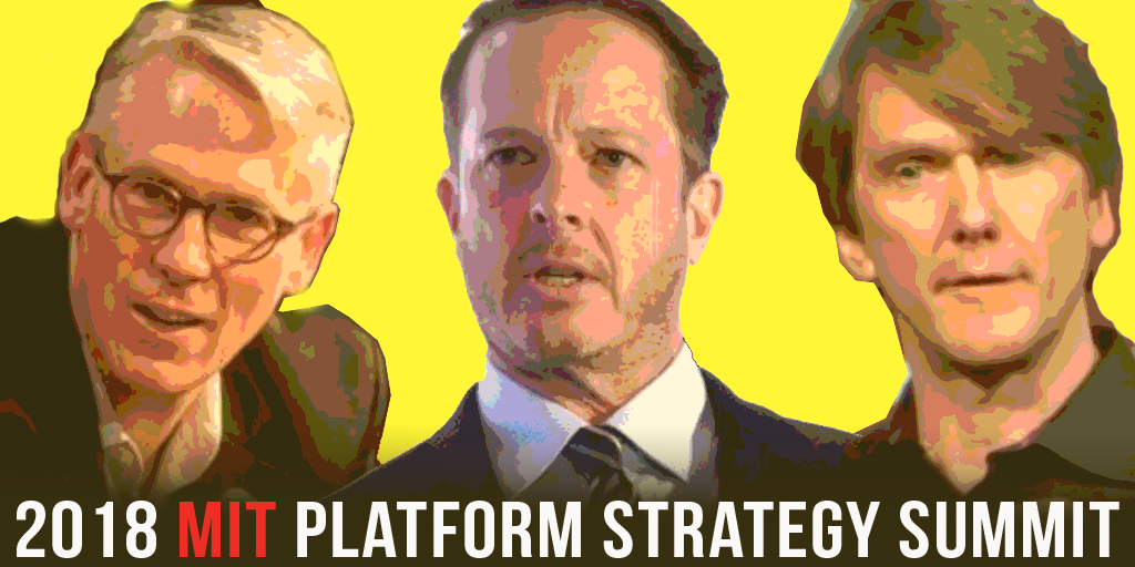 Join @g2parker, @pevans_c &  on @InfoEcon7/13 at the MIT Platform Strategy Summit  to @medialabexplore the economics & management of platform-centered markets & their implications. View our incredible line up of speakers & register:  https://t.co/kihttps://t.co/0DdVq7Q4bHocNqrH1R