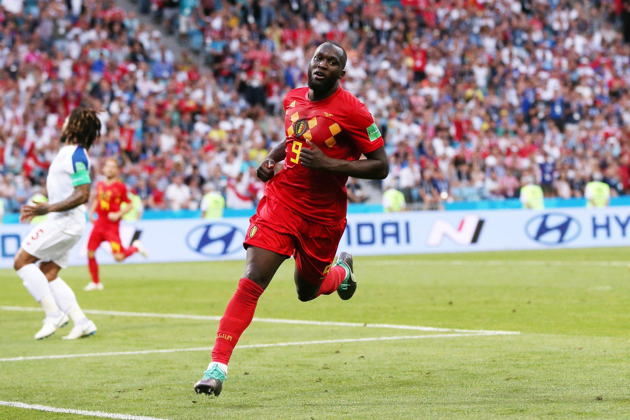 الهدف الثاني لبلجيكا